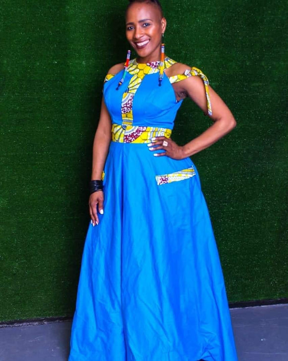 Palesa Blue Dress