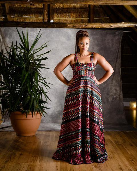 Azuri Long Dress - URBAN ZULU