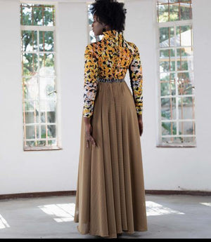 Amina Two-Arms Dress - URBAN ZULU
