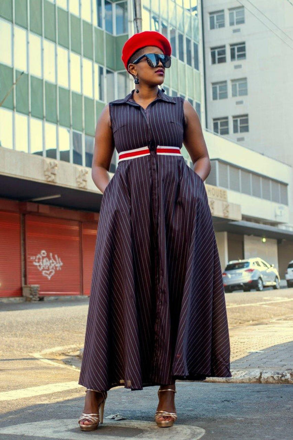 URBAN ZULU: Kolisi Dress - URBAN ZULU