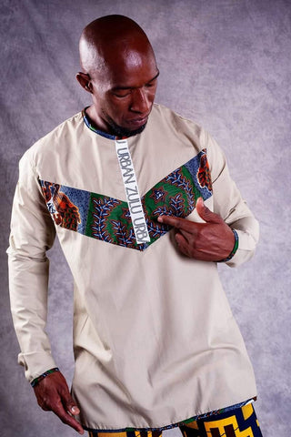 Terry Men Shirt - URBAN ZULU