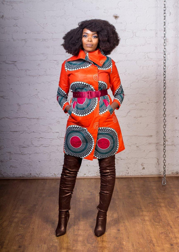 URBAN ZULU: Imvubu Coat Dress