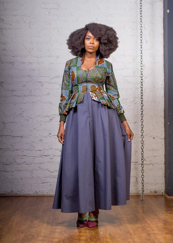 Urban Zulu: Terry grey dress