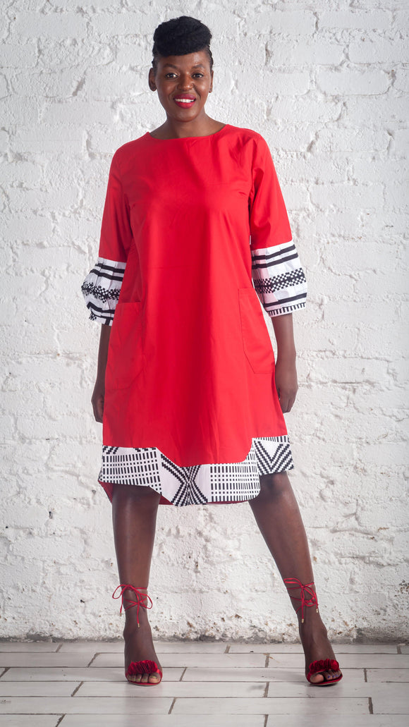 Mwari Red Dress