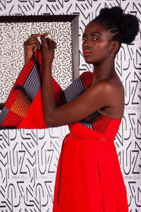 Asante One-Arm Dress