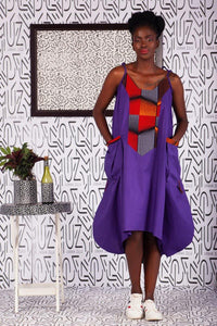 Luyanda Purple Dress - URBAN ZULU