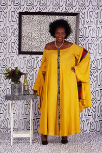 Asante Yellow Dress