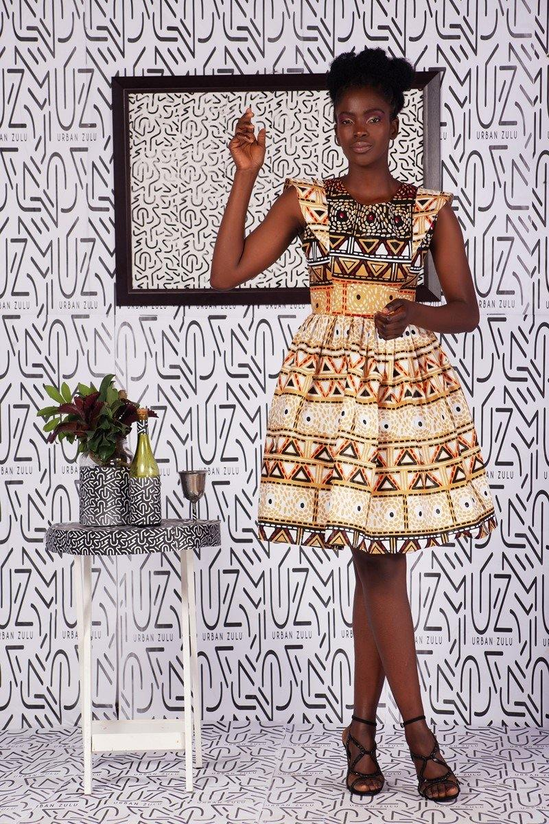 Oratilwe Doll Dress - URBAN ZULU