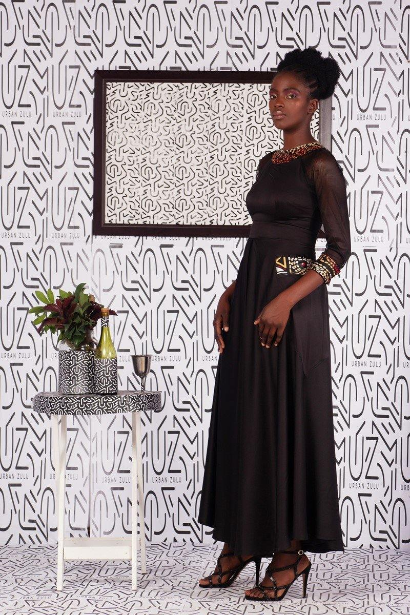 Kwetu Black Dress