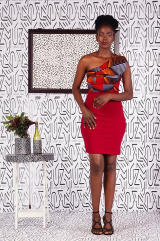 Asante Straight Cut Dress