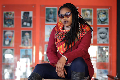 Urban Zulu : Qabane Red Jacket
