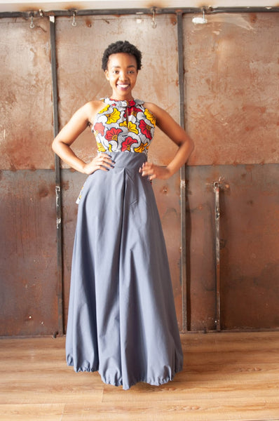 Palesa Grey Dress