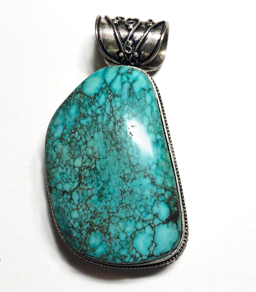 Vintage Style Turquoise Pendant only