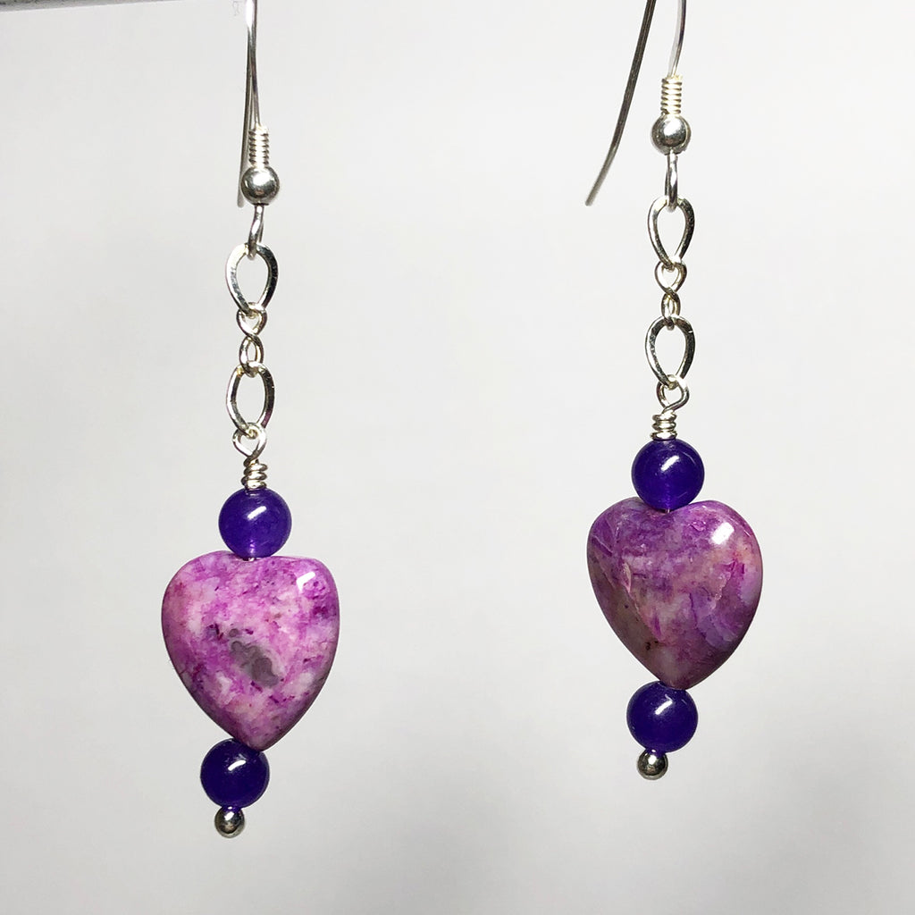 Crazy Love Heart Earrings