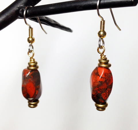 Courageous Jasper Earrings