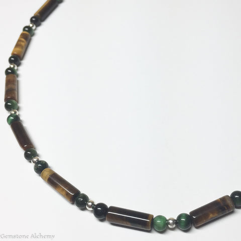 Healing Balance Mixed Tiger-eye Beaded Chain