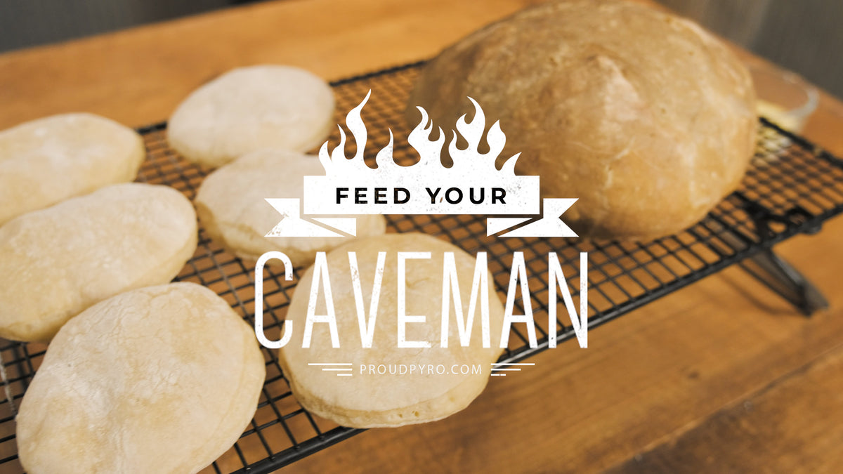 Wood-Fired Bread on Episode 2 of Feed Your Caveman