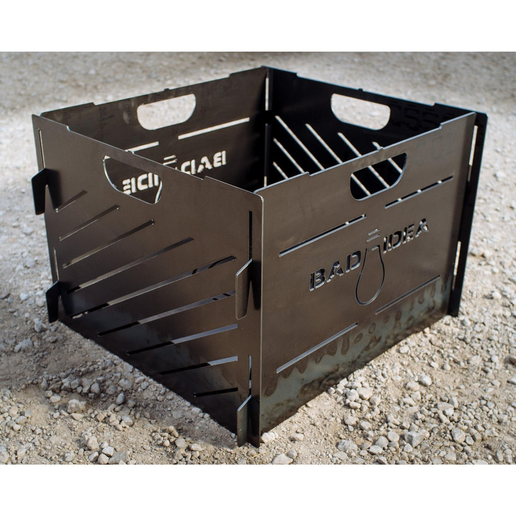 Small collapsable Burn Cage with Lid - Pyro Cage