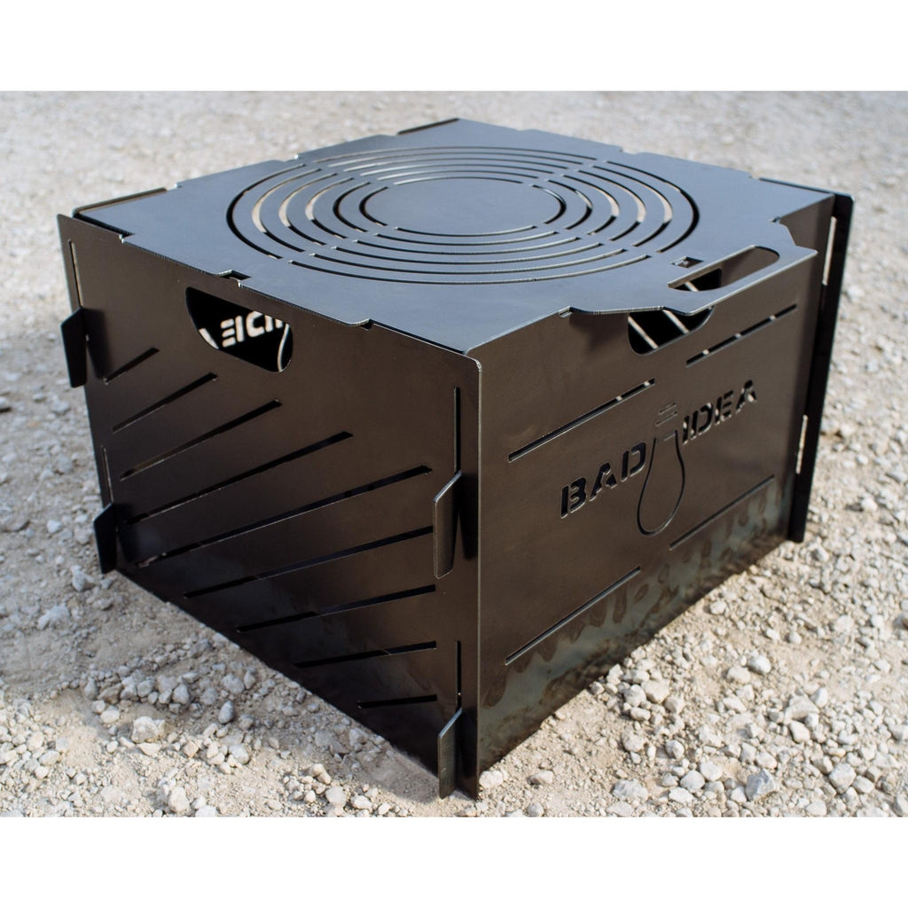 "Small Pyro Cage Incinerator Portable Fire Pit 16"" - Blaze Tower Fire Pit and Grill"