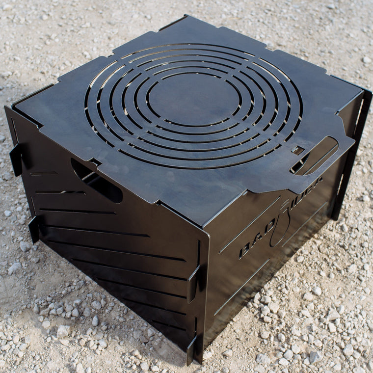 Small Pyro Cage Incinerator Portable Fire Pit 16