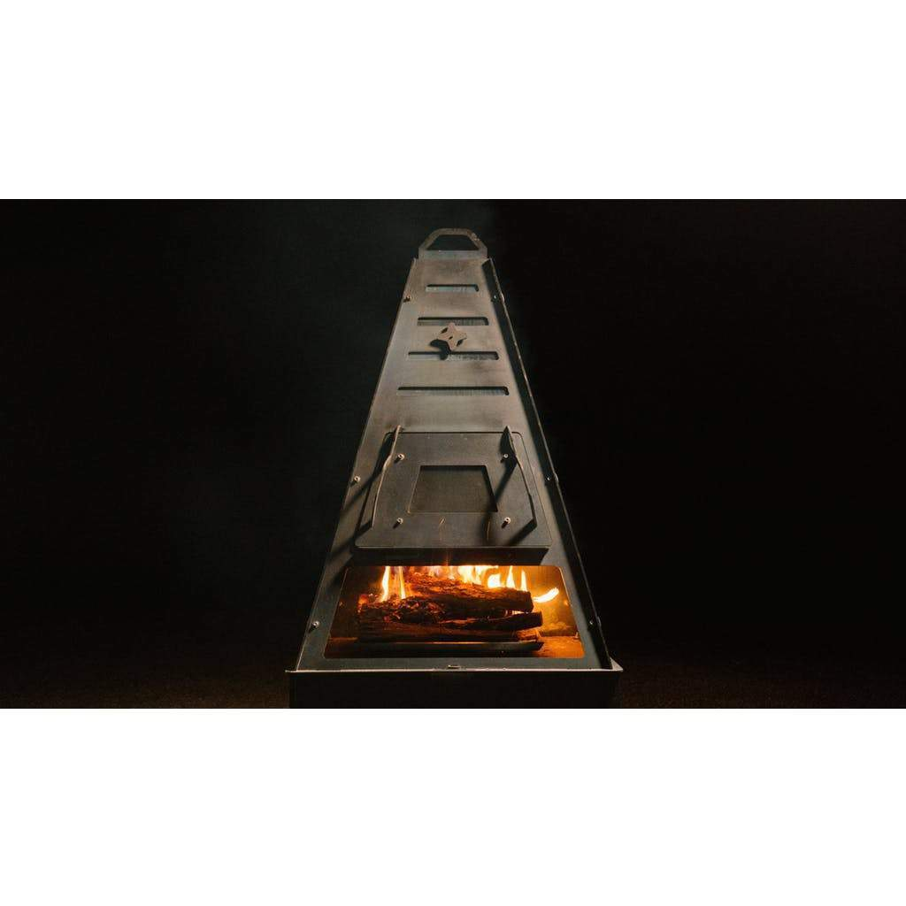 Pyro Tower Wood-Fired Oven Kit - Blaze Tower Fire Pit and Grill