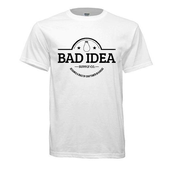 Bad Idea Supply T-Shirt - Blaze Tower Fire Pit and Grill