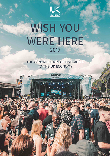 Music Tourism : Wish You Were Here 2017