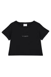 The Heights LDN Cropped Tee (Black)