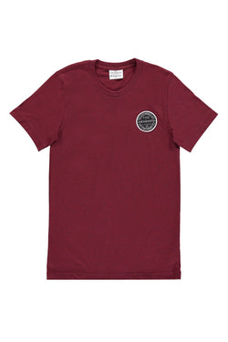 The Heights Fenway Badge Collection Unisex Tee (Maroon)