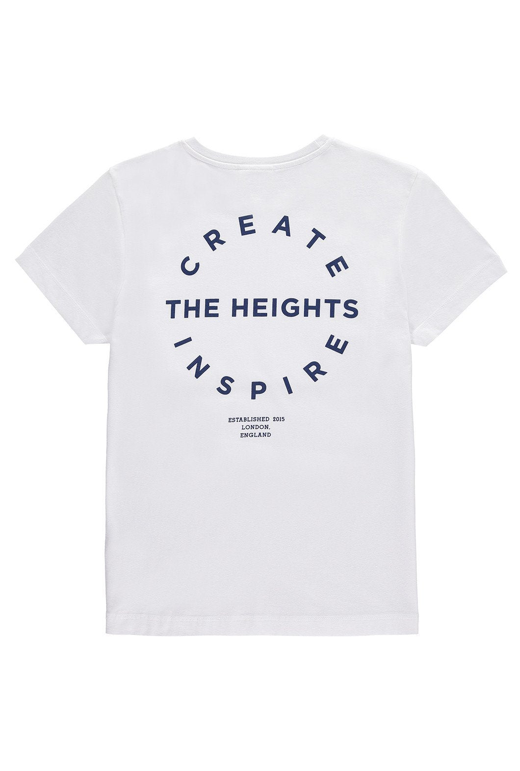 The Heights C&I Unisex Tee (White)