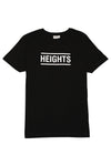 The Heights Short Logo Tee - Black