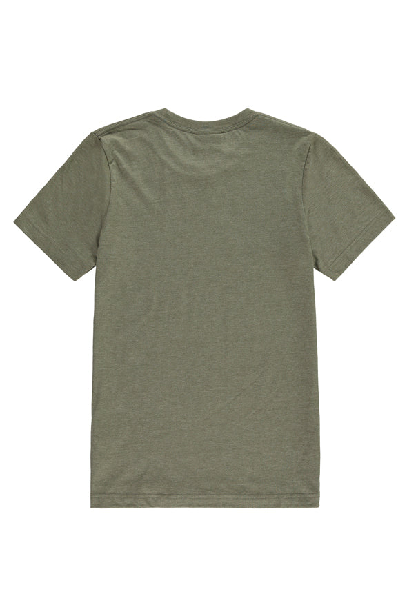 The Heights Short Logo Tee - Green