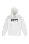 The Heights Logo Hoodie - White