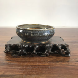 7 X 2.5 Glazed Bonsai Pot