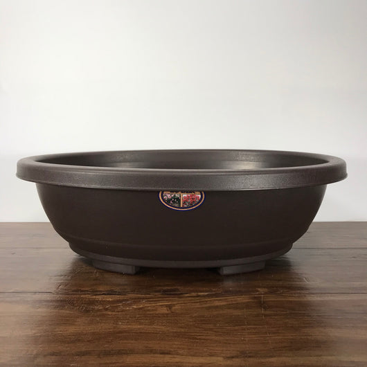 Plastic Oval Bonsai Pot (21 x 16.25 x 6.75 inches)