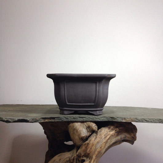 Unglazed Rectangle Bonsai Pots (2 Sizes)