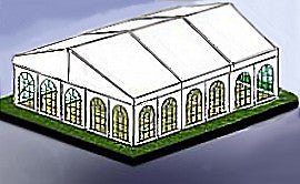 12M x 15M Heavy Frame Marquee