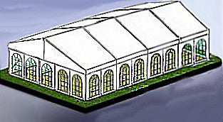 12M x 20M Heavy Frame Marquee