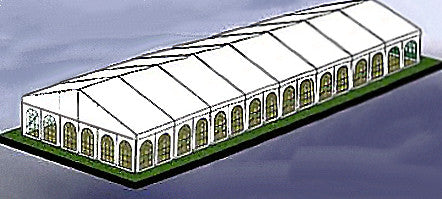 Marquee Hire 9M x 24M