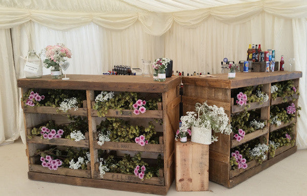 Rustic Bar Unit Hire