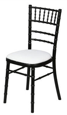 Black Camelot Chair Hire