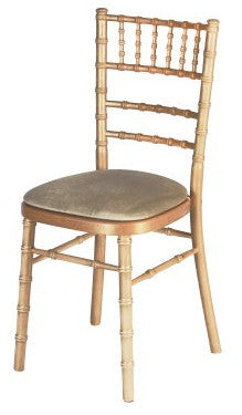 Vintage Gold Camelot Chair Hire