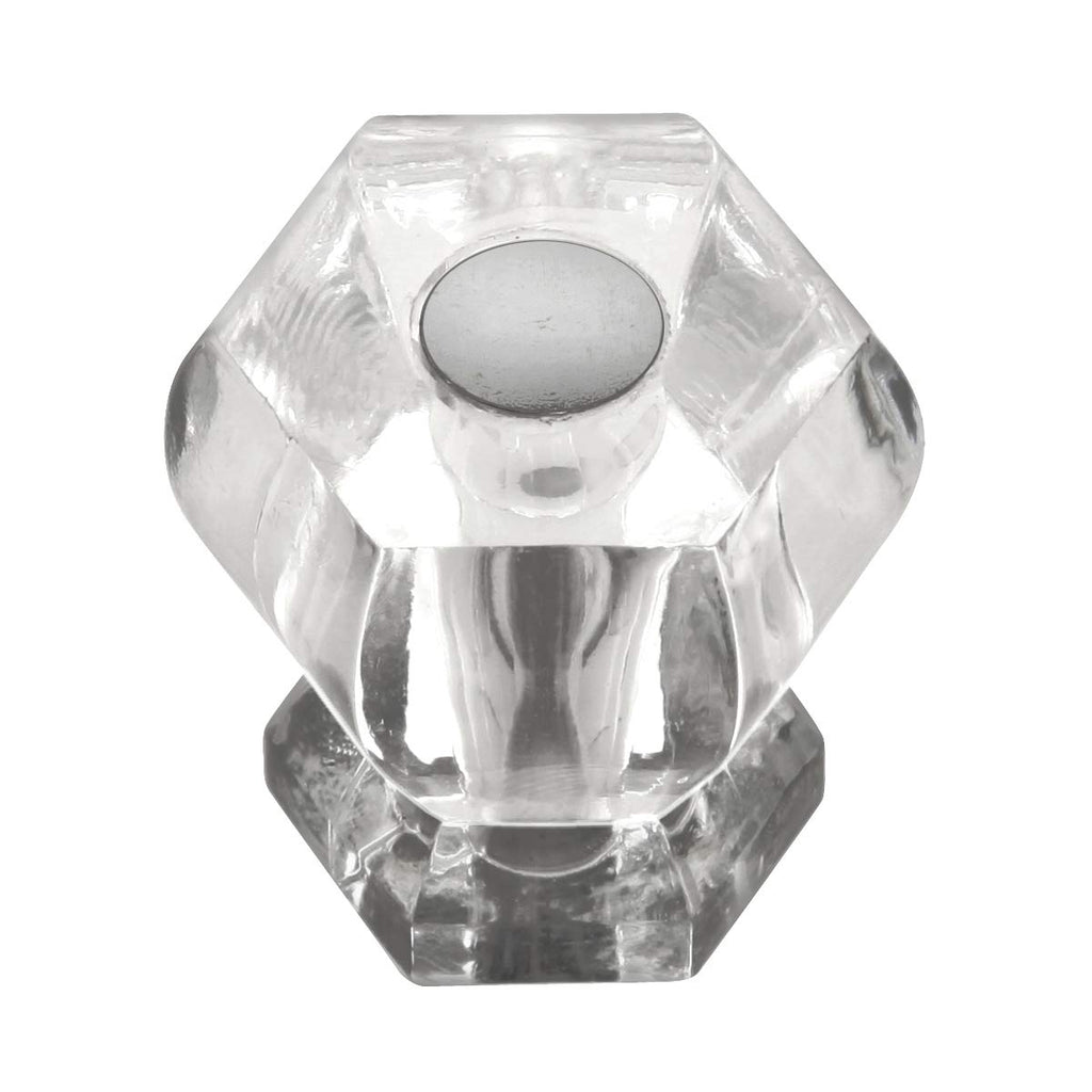 Crystal Palace Hexagon Pull Knobs / Set of 5