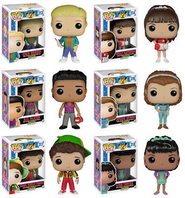 Saved by the Bell set Funko Pop vinyl Figure