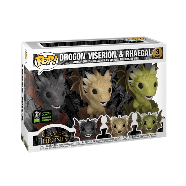 GOT ECCC 3 Dragon Egg Exclusive Funko Pop! Vinyl Figure Television