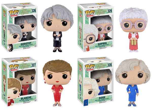 Golden Girls set of 4 Funko Pop! Vinyl figure television