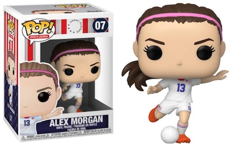 Sports legends Alex Morgan Funko Pop! Vinyl Figure sports