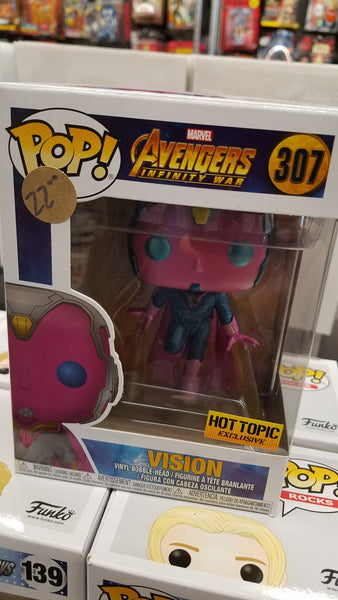 Marvel Vision Hot Topic Exclusive Funko Pop! Vinyl figure 2020