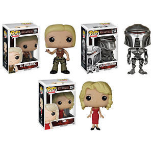 Battlestar Galactica set of 3 Funko Pop! Vinyl TV retired STORE
