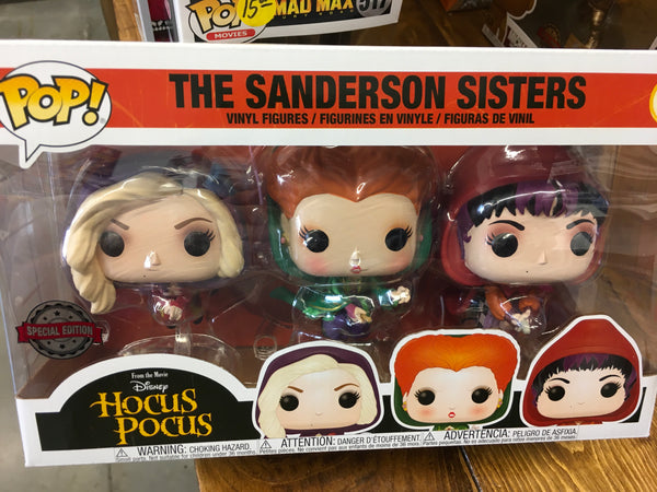 Hocus Pocus Flying 3 pack Exclusive Funko Pop! Vinyl figure disney